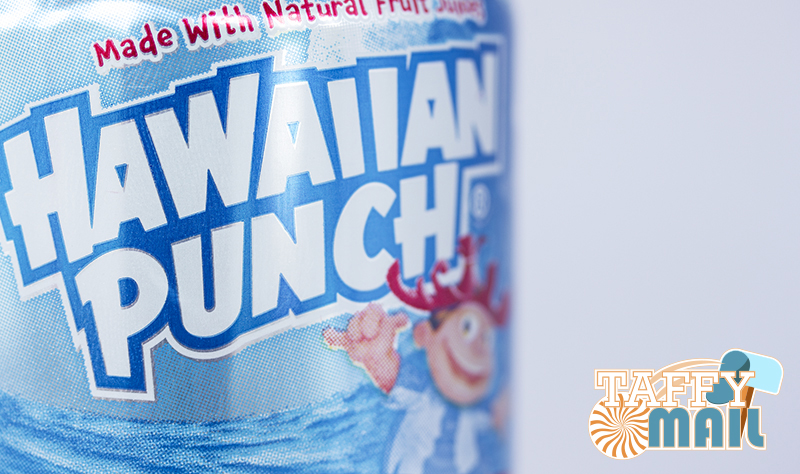 American sweets and treats that could be included: Hawaiian Punch