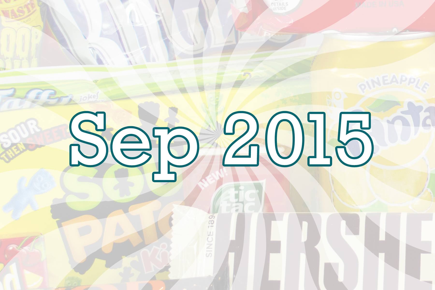 September 2015 American Candy