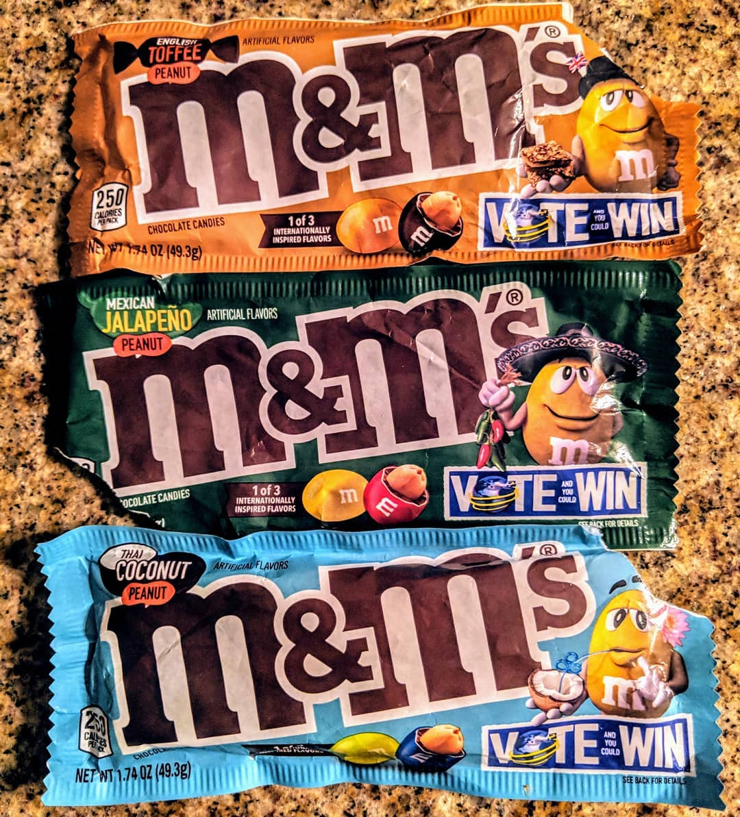 New M&Ms Flavours