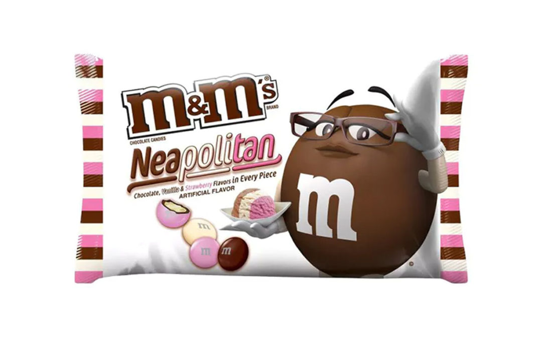 Neapolitan M&Ms in the UK?
