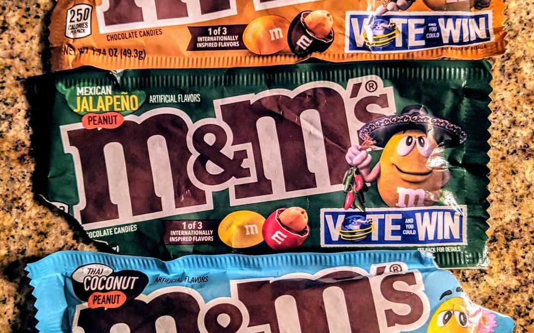 New M&Ms flavours are on the way!